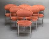 Seks stole, Verner Panton, Thonet. Model 430 (6)