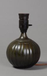Bordlampe, Just Andersen, diskometal, nr. 1633.