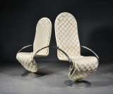 Verner Panton. Lounge chairs with armrests, System 1-2-3 (2)