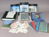 Danmark. Samling frimærker, postfrisk, samt årsmapper.
