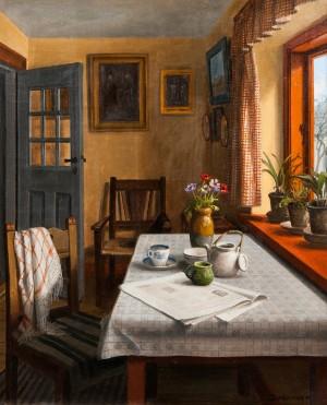 ldre billedkunst c s rensen 39 interieur 39 lgem lde de hamburg gro e elbstra e. Black Bedroom Furniture Sets. Home Design Ideas