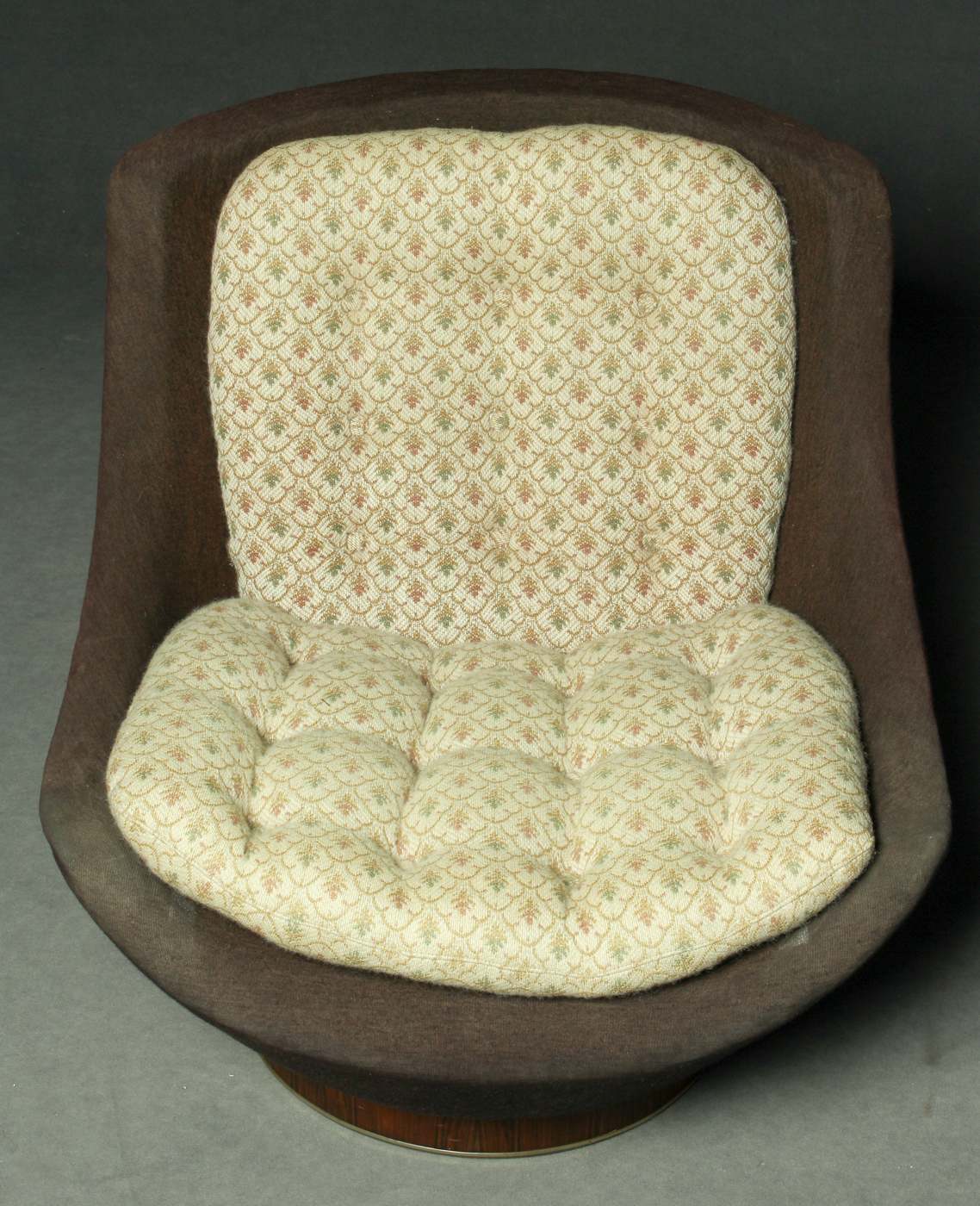 Click here to see a larger picture & A swivel chair by Seng Chicago 1950 - 1960 | Lauritz.com