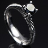 Solitaire ring ca. 1.15 ct.
