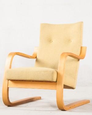 Alvar Aalto Freischwingender Schichtholz Sessel Lounge Mod 401 Fur Artek
