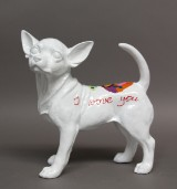 Hannes D'Haese. 'Chihuahua' skulptur.