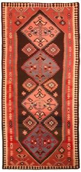 Nordvest persisk kelim, 428x175 cm.