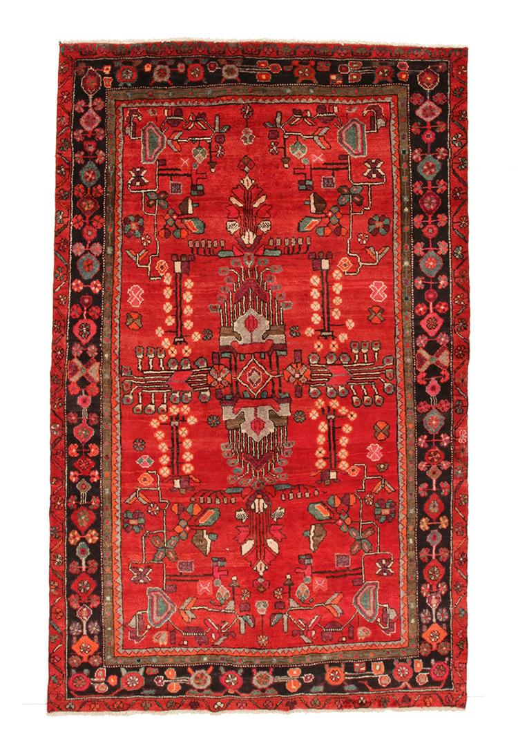 Persisk Lori 254 x 156 cm - Persisk Lori 254 x 156 cm. Håndknyttet uld på bomuld