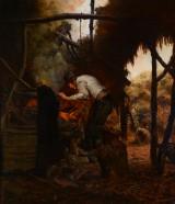 Niels Pedersen Mols, painting