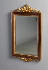 Vægspejl, fransk stil med sløjfe på top, 1900-tallet