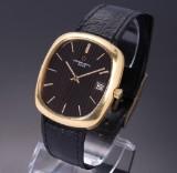 Eterna-Matic '3003'. Vintage men's watch, 18 kt. gold with date, c. 1980