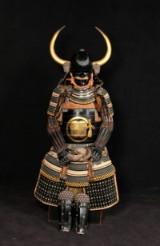 Samurai armour: Gendai Kuro Gusoku Asano Nagamasa Wakidate Yoroi, Japan