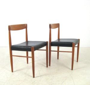 h w klein esstisch st hle in teak f r bramin 3. Black Bedroom Furniture Sets. Home Design Ideas