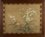 Ubekendt kunstner, silkemaleri i stil med Jiang Tinxi