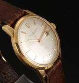 IWC Schaffhausen vintage men's watch, 18 kt. gold case, c. 1960