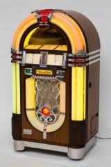 Wurlitzer Jukebox, mahogany, One more Time
