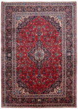 Hand-knotted Persian carpet, Yazd 351 x 253 cm