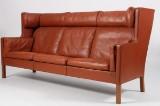 Børge Mogensen. Freestanding three-seater Compartment Sofa, Model 2193