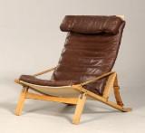 Preben Fabricius og Jørgen Kastholm. Sammenklappelig hvilestol, model P.B. 10