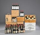 Vinsamling af primært Bordeaux vine (127).