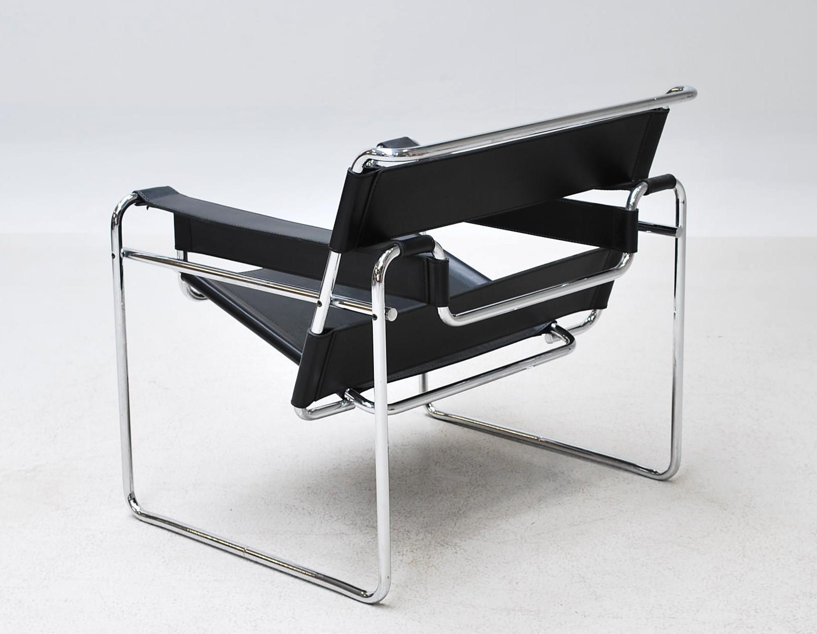 Marcel Breuer Stoel : Marcel breuer wassily chair model b lauritz