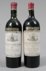 Chateau Lynch Bages 1955. (2)
