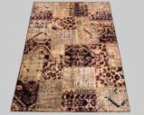 Tæppe, patchwork design Rivive Vintage, ca. 235 x 159 cm