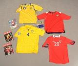 Internationale fodboldspillertrøjer (28)