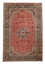 Hand-knotted Persian rug, Najafabad, 385 x 260 cm