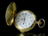 Savonette Chronograph 'Alexa' af guld med minutrepetition