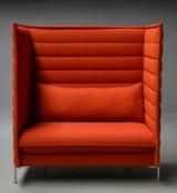 Erwan & Ronan Bouroullec for Vitra. 'Alcove' fritstående højrygget sofa