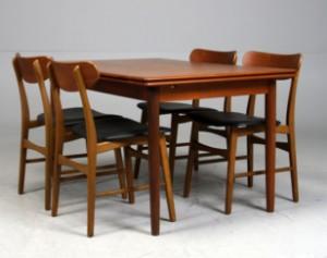 Fasjonable Slutpris för Dansk design. Spisebord med hollandsk KL-91