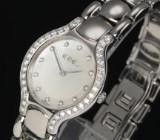 Ebel Beluga ladies' watch, steel, mother-of-pearl dial, diamonds, c. 2011