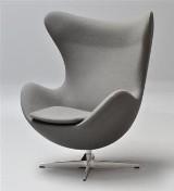 Arne Jacobsen Ægget grå divina melange - Til fordel for AIDS-Fondet
