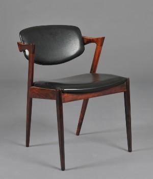 kai kristiansen stol Kai Kristiansen, Stol af palisander, model 42 | Lauritz.com kai kristiansen stol