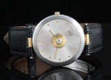 Bunz Swiss made diamond and gold watch approx.0.13ct