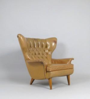 Vara 4148415 lounge sessel ohrensessel der 1950 60er for Ohrensessel 60er