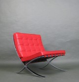 Mies van der Rohe, a lounge chair, Barcelona Kids / Child by Knoll International