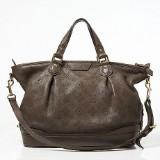 Louis Vuitton handväska Stellar PM i brunt
