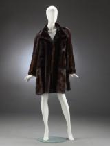 Levinsky. Mahogany mink coat, size 38