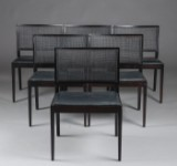 Lievore Altherr Molina for Andreu World. Six dining chairs, model Manilla SI 2020 (6)