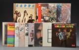 En samling på 15 LP plader.  (15).