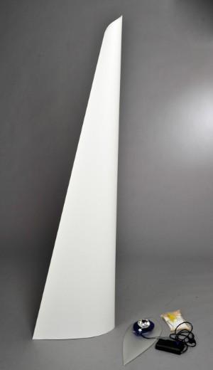a engbert franz ringelhan for rolf benz stehlampe modell 39 vela 39. Black Bedroom Furniture Sets. Home Design Ideas