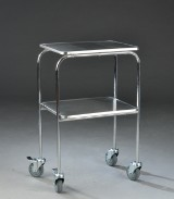 Rullebord, metal. 50 x 40 cm.
