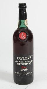 Taylor's Late Bottled Vintage Port 1969