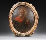 Russian Baroque icon, 18th century