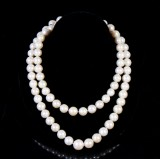 Necklace, South Sea pearls, length 100 cm