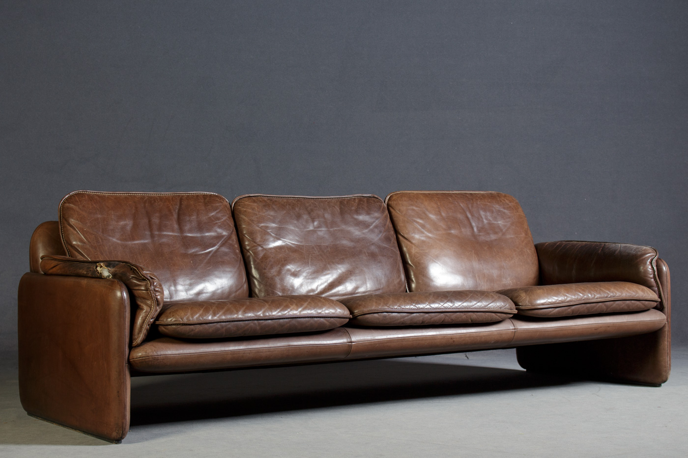 Dreier Sofa auktionstipset de sede dreier lounge sofa modell ds 61