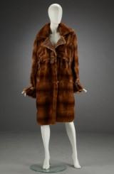 Mink coat, Scanglow mink, size 40/42