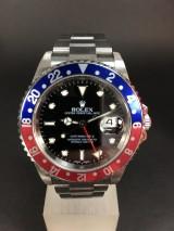 Rolex GMT Master II (blåt-rødt)