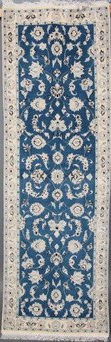 Persisk Nain m/ Silke, 205 x 67 cm